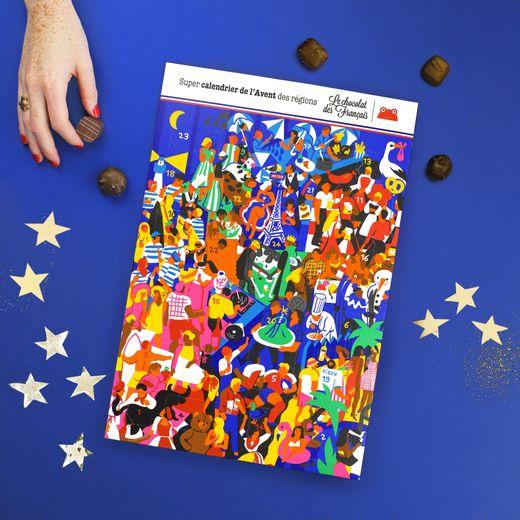 Le calendrier de l'Avent du Chocolat des Français