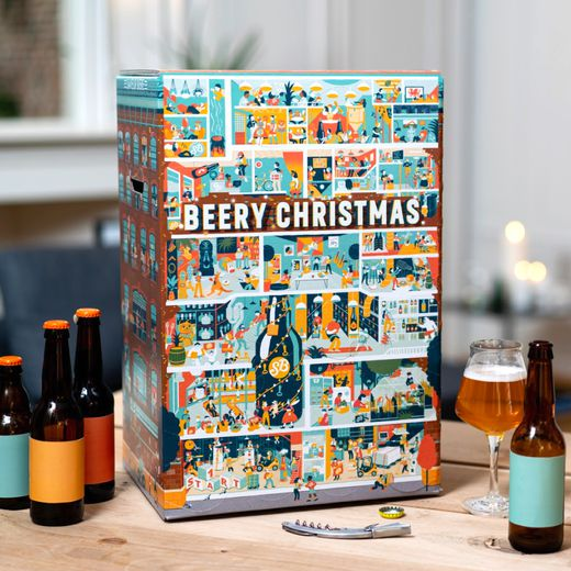 Le calendrier Beery Christmas de Saveur Bière