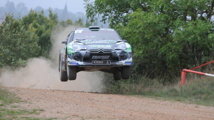 La DS3 WRC de l'équipage Beaubelique-Pesenti.