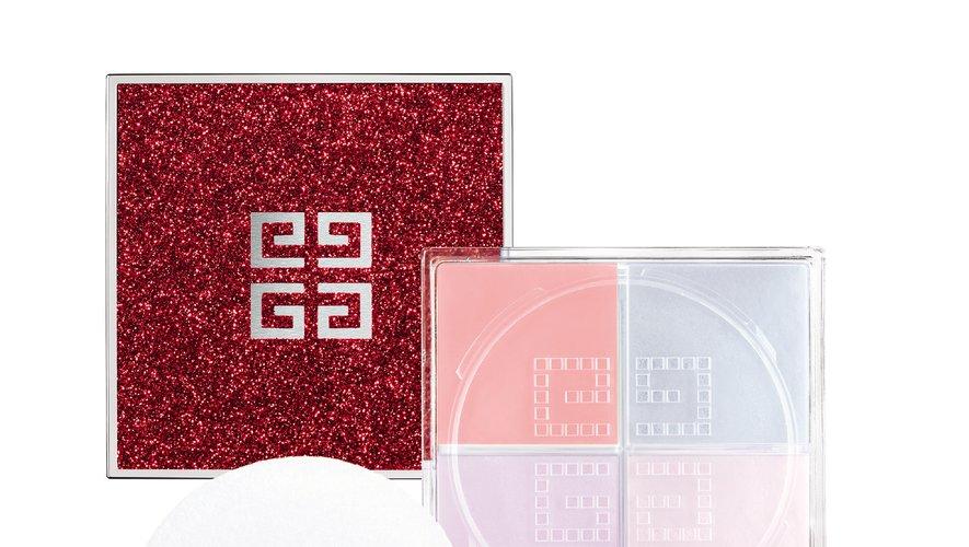 """Le """"Prisme Libre N°10 Sparkling Mousseline"""" issu de la collection """"Red Line"""" de Givenchy pour Noël, en édition limitée."""