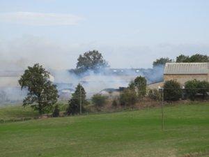 Le feu s'est déclaré sur la commune de La Selve.