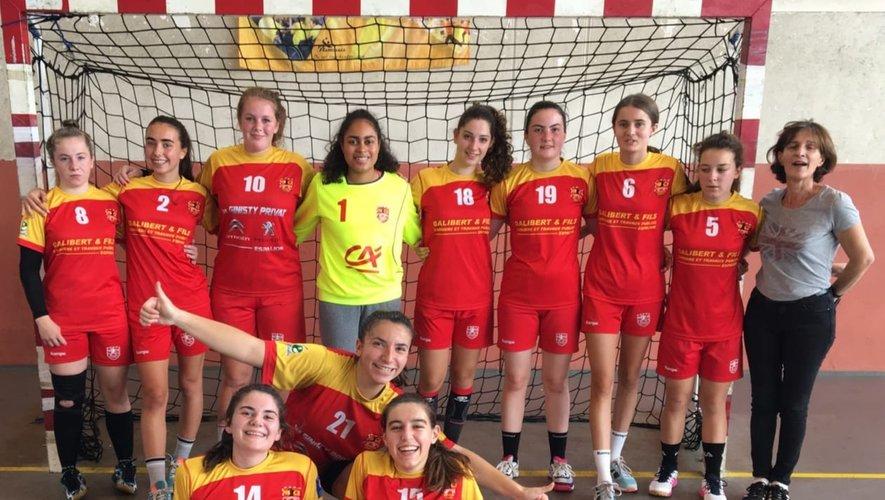 Victoire des moins de 18 ans filles face à Valence-d'Agen.