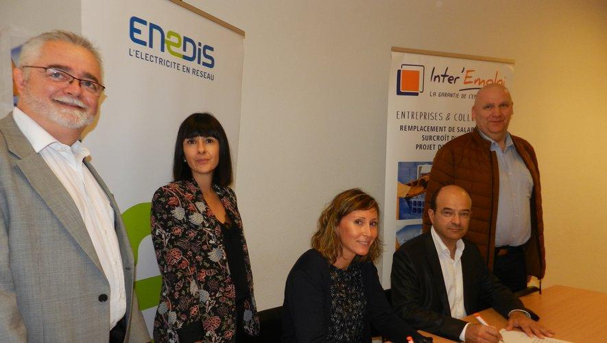 Une convention a été signée par Nadège Le Clezio et Patrick Liminana.