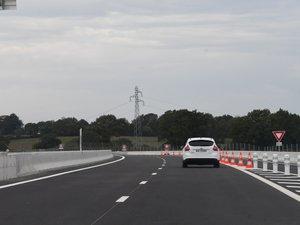 Mauvaise surprise ce matin pour les automobilistes qui souhaitaient récupérer la voie rapide depuis Calmont.