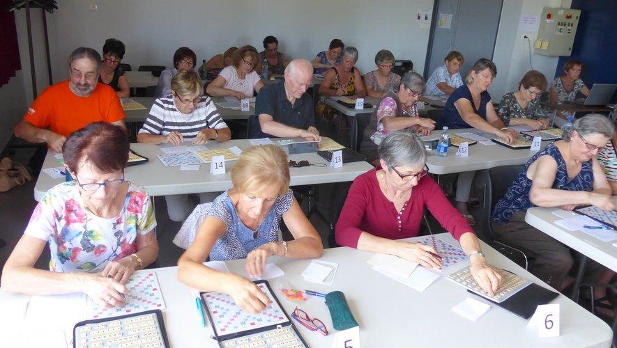 Les participants à la dernière séance à l'espace animation de Luc.