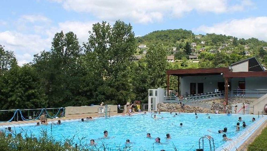 Une piscine bien agréable et très appréciée du public.