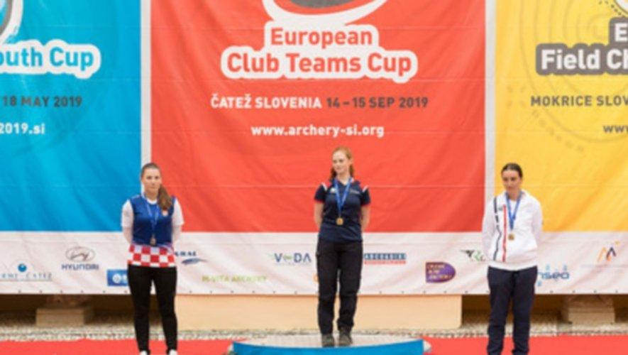 Troisième au championnat d'Europe, Aurélie Autret sera honorée samedi