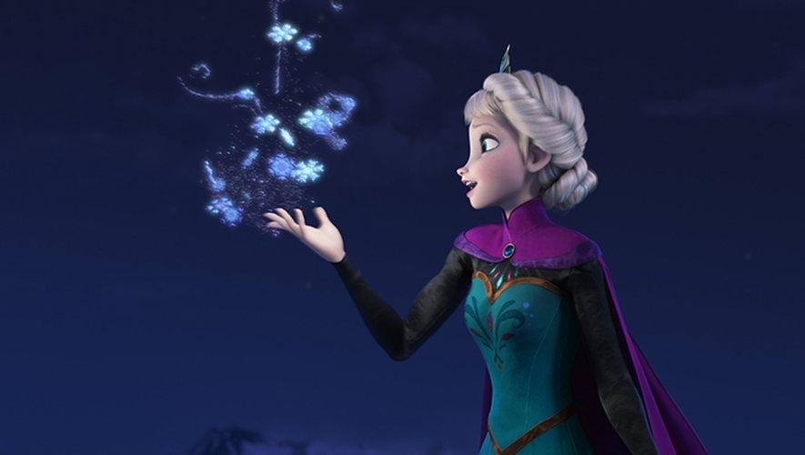"""Disney+ annonce un impressionnant catalogue de lancement (En illustration : """"La Reine des neiges"""")."""