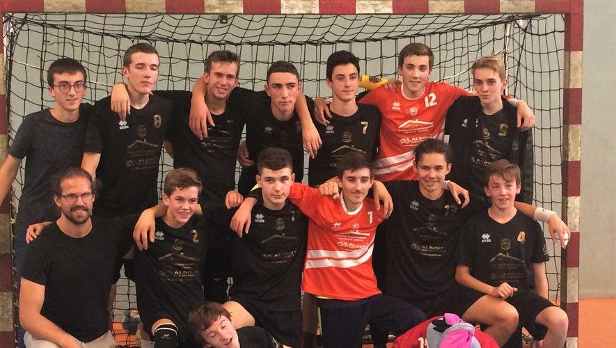 Les juniors 18 vainqueurs le week-end dernier.
