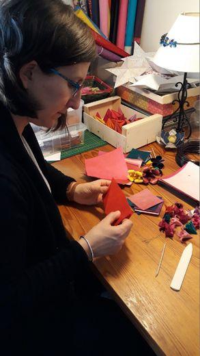 Les doigts de Céline butineront  à nouveau aux ateliers créatifs