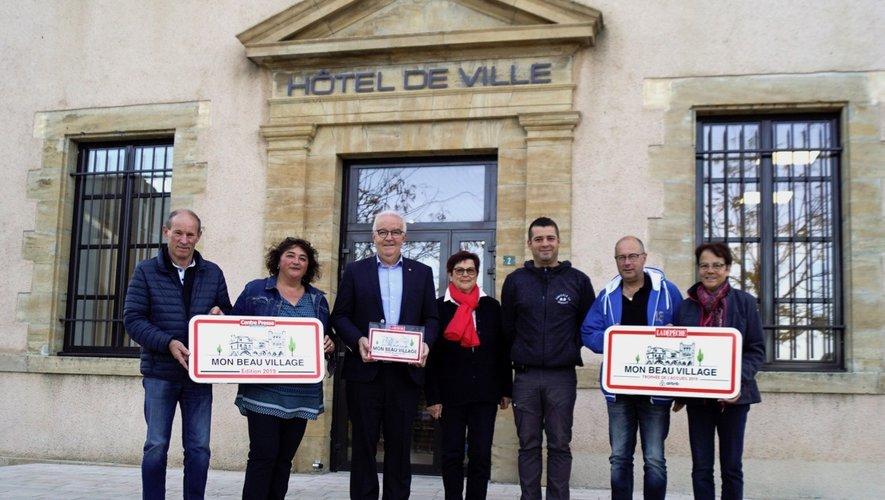 Le maire et les adjoints (es) ont le plaisir d'afficher les prix de distinction.