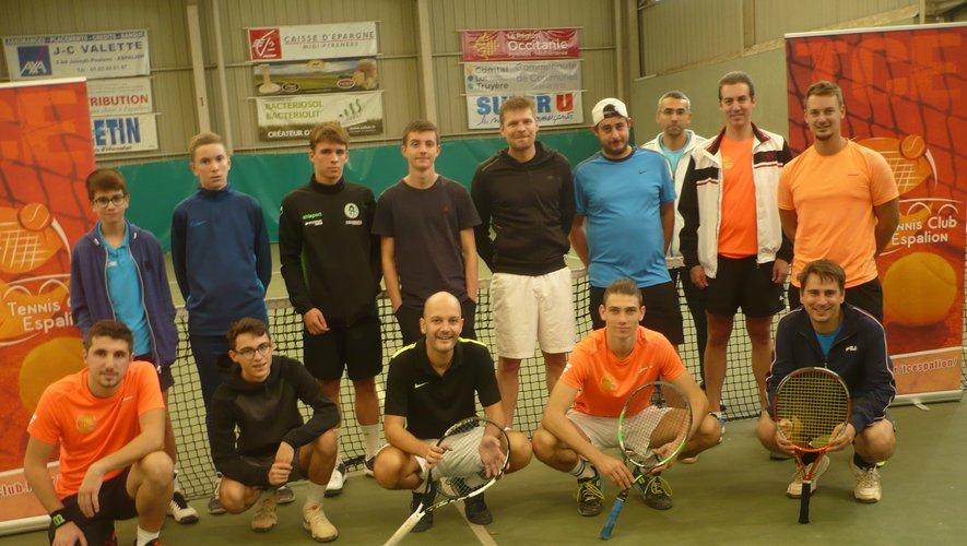 Les participants au tournoi.