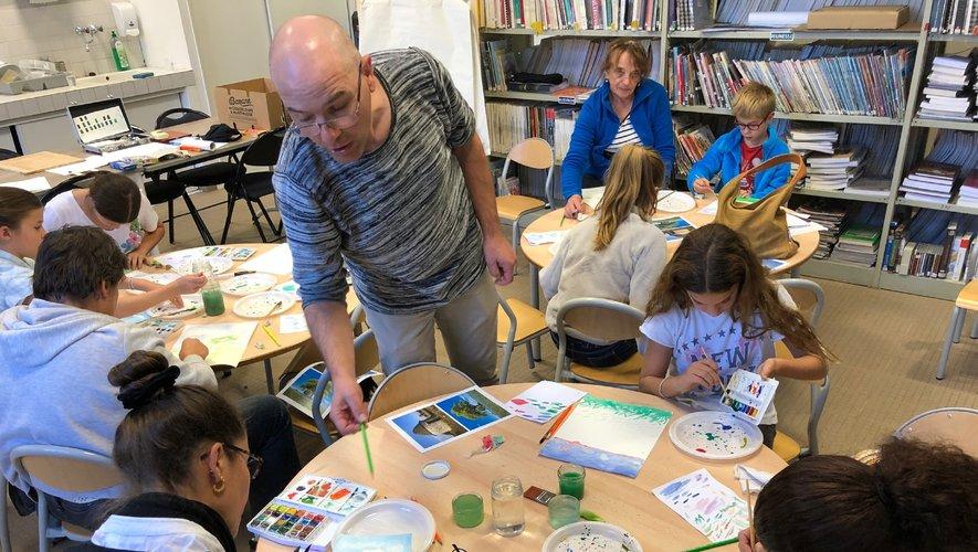 L'illustrateur Jean-Christophe Vergne animera un atelier pour les enfants.