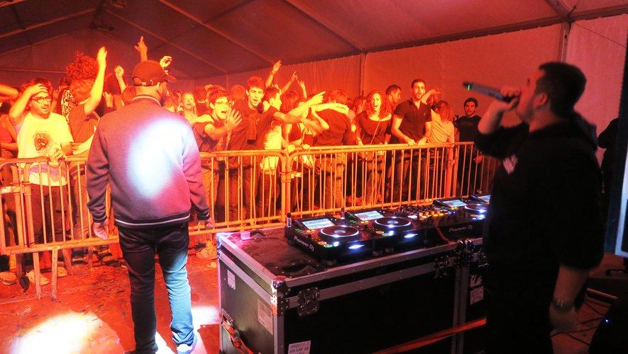 La soirée s'est animée avec les musiques des différents DJ.