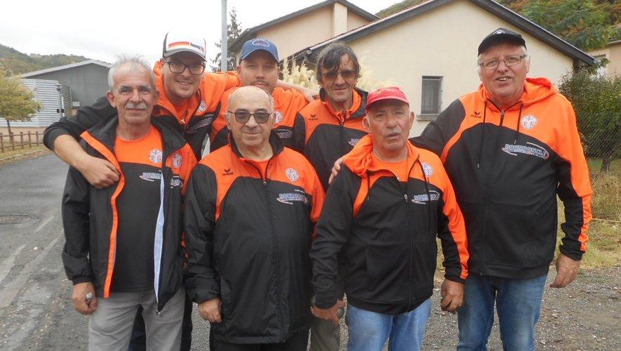 L'équipe III du Gua.