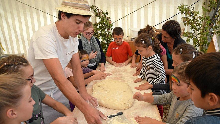 L'an dernier, divers ateliers étaient proposés aux enfants.