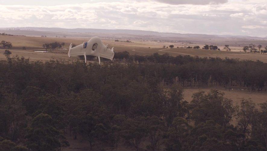 Wing est devenue cette semaine la première société à livrer par drones aux Etats-Unis.