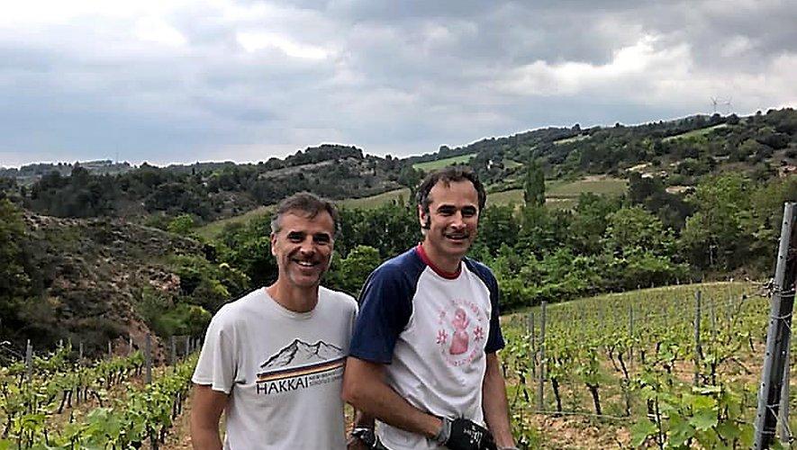 Une belle aventure pour les deux frères Jérôme et Stéphane Bernatas, installés près de Limoux (Aude).