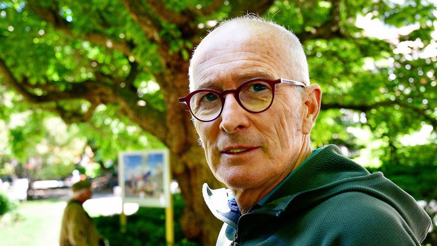 Gilles Bertrand, créateur et organisateur en chef du Festival des Templiers.
