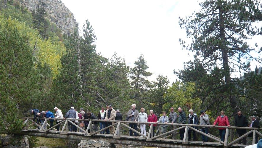 Promenade dans le parc national d'Aiguestores.