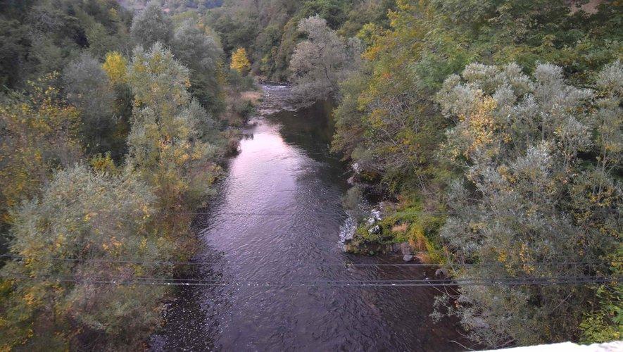 Aménagement de la vallée du Lot au pont de Chipolle.