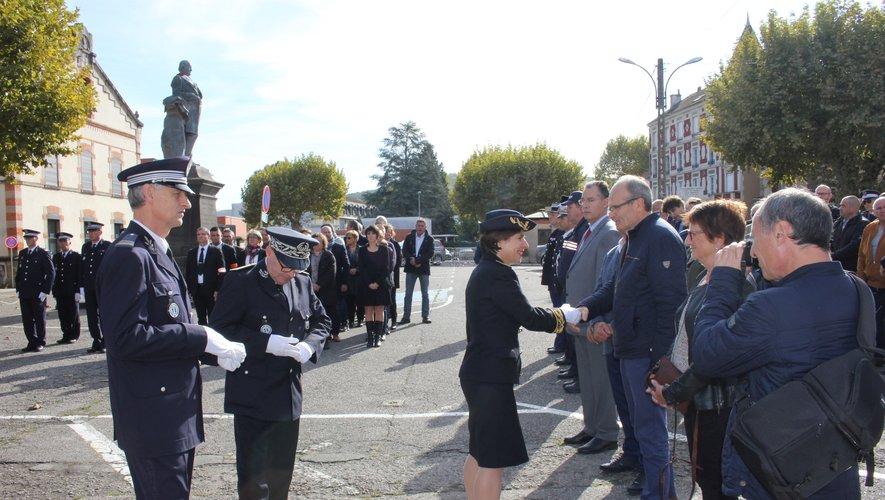 Plusieurs maires du Bassin et élus de Decazeville communauté étaient présents.