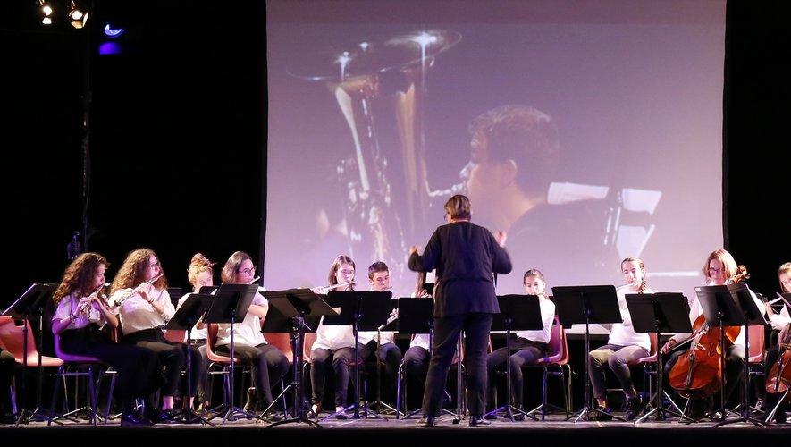 Les musiciens ont répété pendant cinq jours à Espalion.