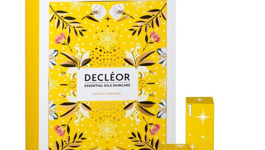 Le calendrier de l'Avent Decléor - Prix : 80 euros - Site : www.decleor.fr.