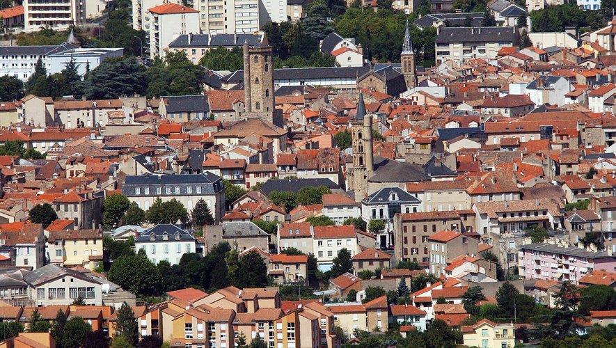 Le cœur de ville, la zone ORT cerclée de rouge, est éligible au dispositif.