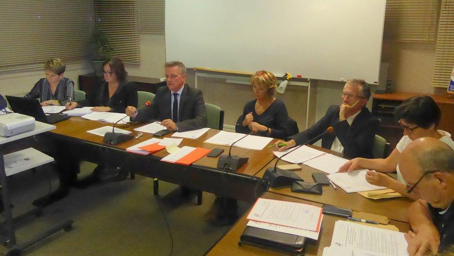 Les élus lors de la dernière séance publique du conseil municipal.