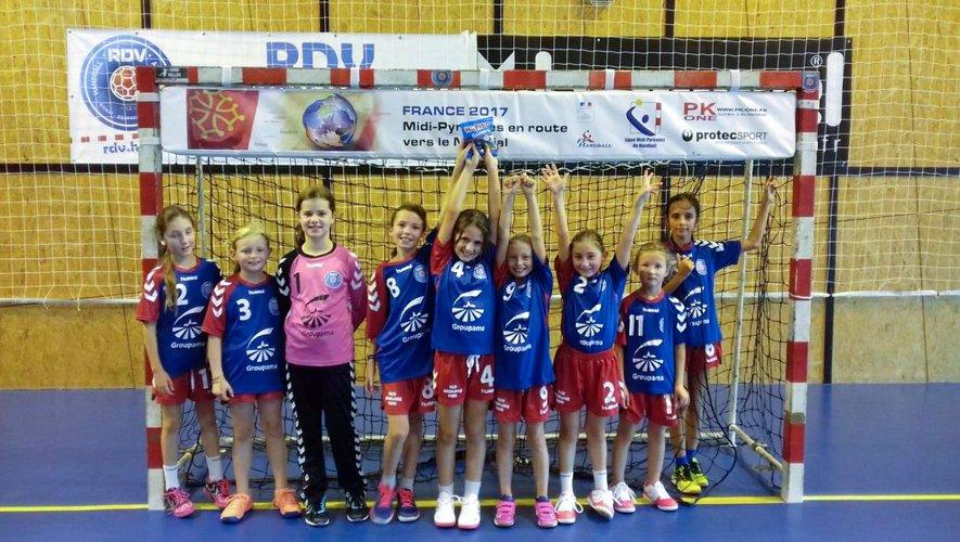 Les 11 ans filles, un bel avenir pour le club.