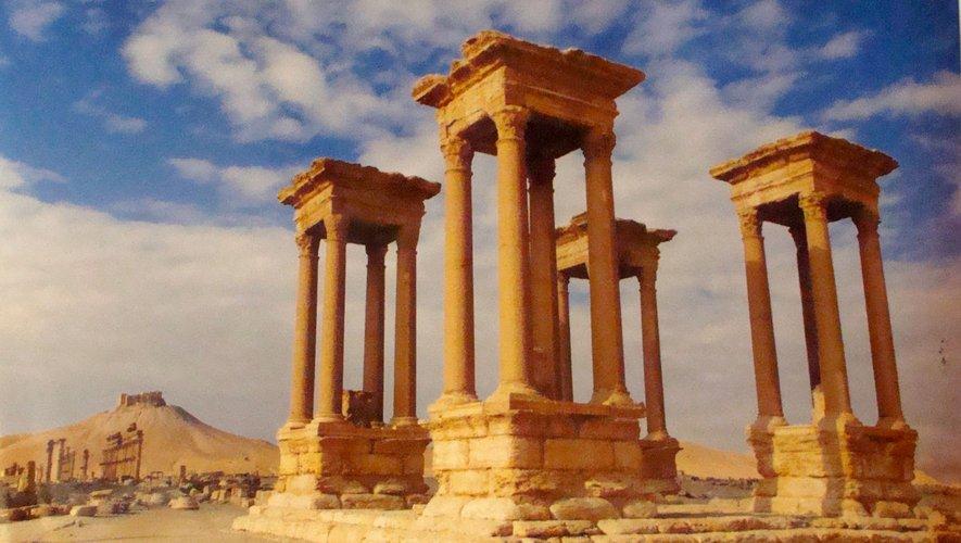Les richesses de Palmyre victimes de la guerre.