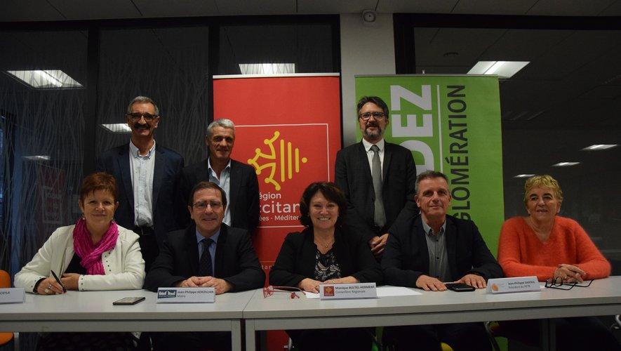 Jusqu'en 2021, 4 M€ pourraient être mobilisés en direction  des projets des sept communes signataires de l'agglomération.
