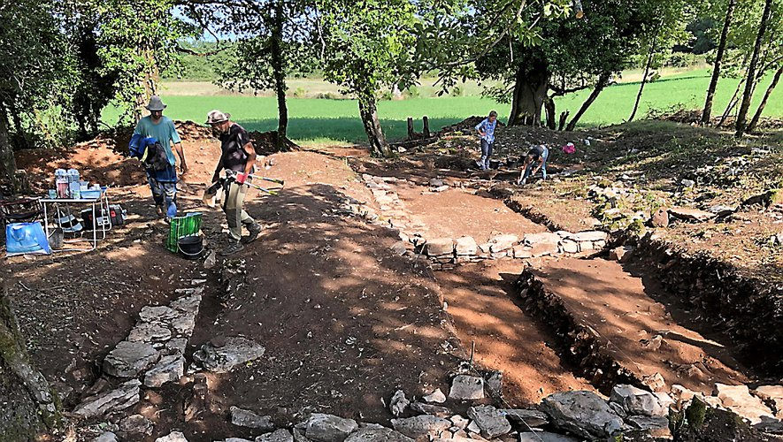 Les résultats de fouilles de 2018 et les premiers de 2019, à Cadayrac (ci-dessus) ou à Calmont- d'Olt par exemple, seront dévoilés samedi.