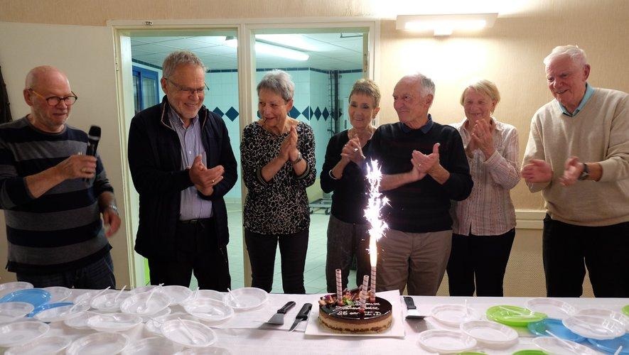 Cette année marque le 25e anniversaire d'Itinéraires Découvertes. C'est avec émotion que les fondateurs de l'association soufflaient les bougies à cette occasion.