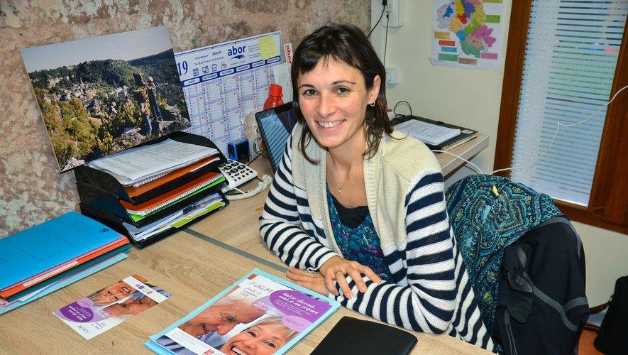 Elodie Singlard-Causse, coordinatrice au Point info seniors.