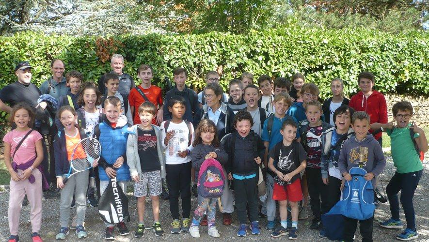Les petits tennismen se sont retrouvés à  Rodez.