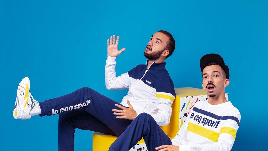 Bigflo & Oli ont imaginé une paire de baskets pour le coq sportif via leur marque Visionnaire.