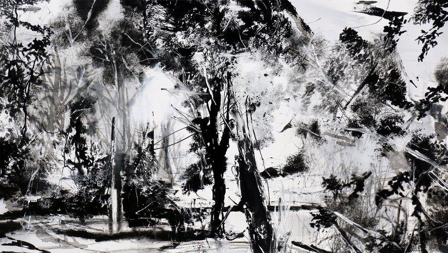Oeuvre de Frédéric Fau qui sera exposée à La Cabane.