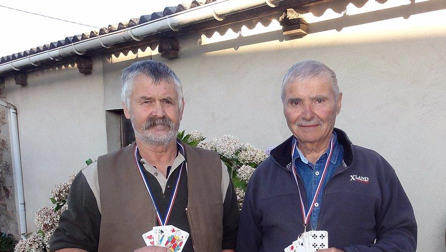 Pierre et Denis, médaillés aux jeux du pays Ségali.