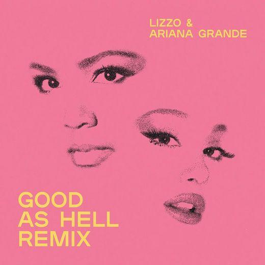 """Lizzo invite Ariana Grande sur le remix de son titre """"Good As Hell""""."""