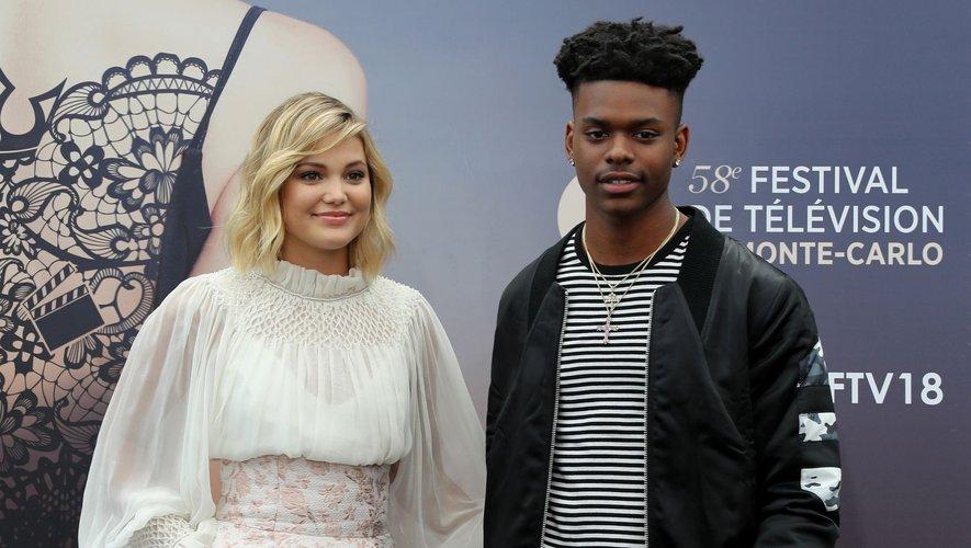 """Olivia Holt et Aubrey Joseph tenaient les deux rôles principaux de la série de Marvel """"Cloak and Dagger"""" sur Freeform."""