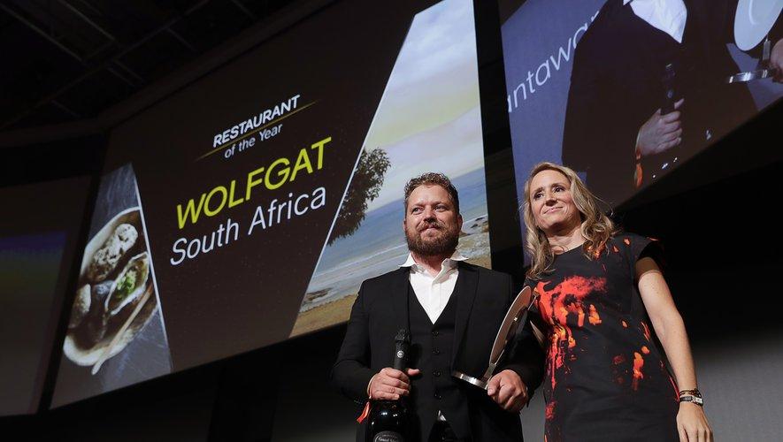 Le restaurant sud-africain Wolfgat, du chef Kobus van der Merwe, a reçu le prix du Restaurant de l'année aux World Restaurant Awards 2019.
