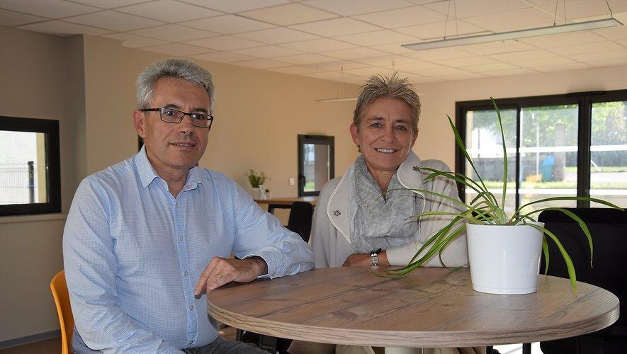 Patrick Valat, président, et Anne-Marie Boissonnade, directrice, sont à la tête de la fédération départementale de Familles rurales.