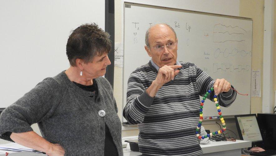 Sylvie Robert et Jean-Pierre Chambost, intervenants.