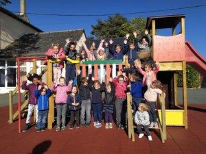 Une aire de jeux à l'école Saint-Martial