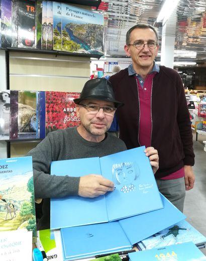 Jean-Christophe Vergne, illustrateur de bandes dessinées.