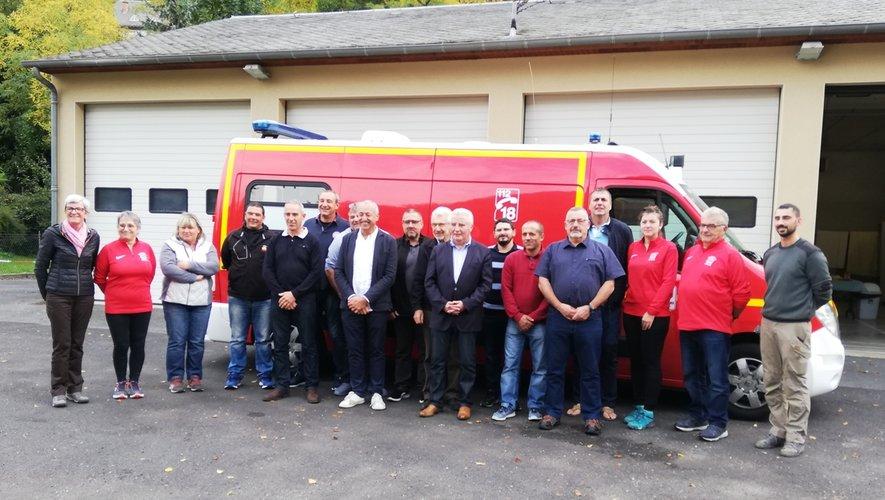Réunion régionale de travail au centre de secours d'Estaing.