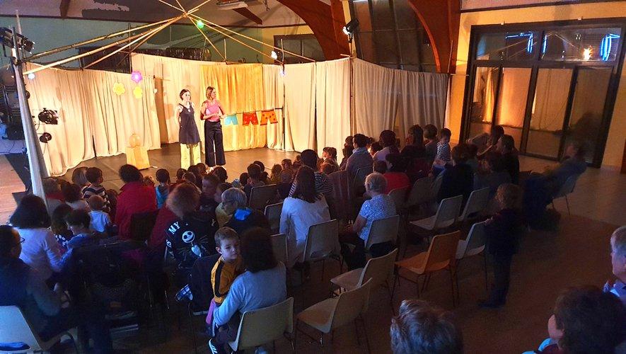 Les trois micro-crèches gérées par la communauté de communes Aubrac, Carladez et Viadène, étaient réunies.