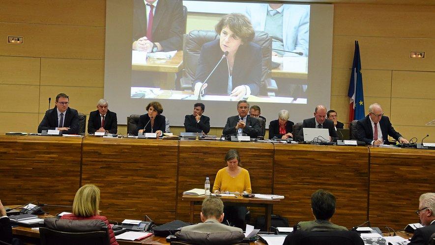 Michèle Lugrand a présenté le bilan de l'action de l'État en Aveyron.